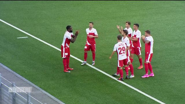 Football, Challenge League, 1ère journée: Thoune - FC Stade-Lausanne-Ouchy (2-2) [RTS]