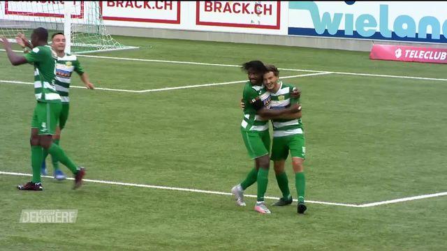 Football, Challenge League, 1ère journée: Kriens - NE Xamax FCS (3-1) [RTS]