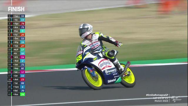 Moto3, GP d'Emilie-Romagne (ITA): Romano Fenati (ITA) s'impose au bout d'une course folle [RTS]