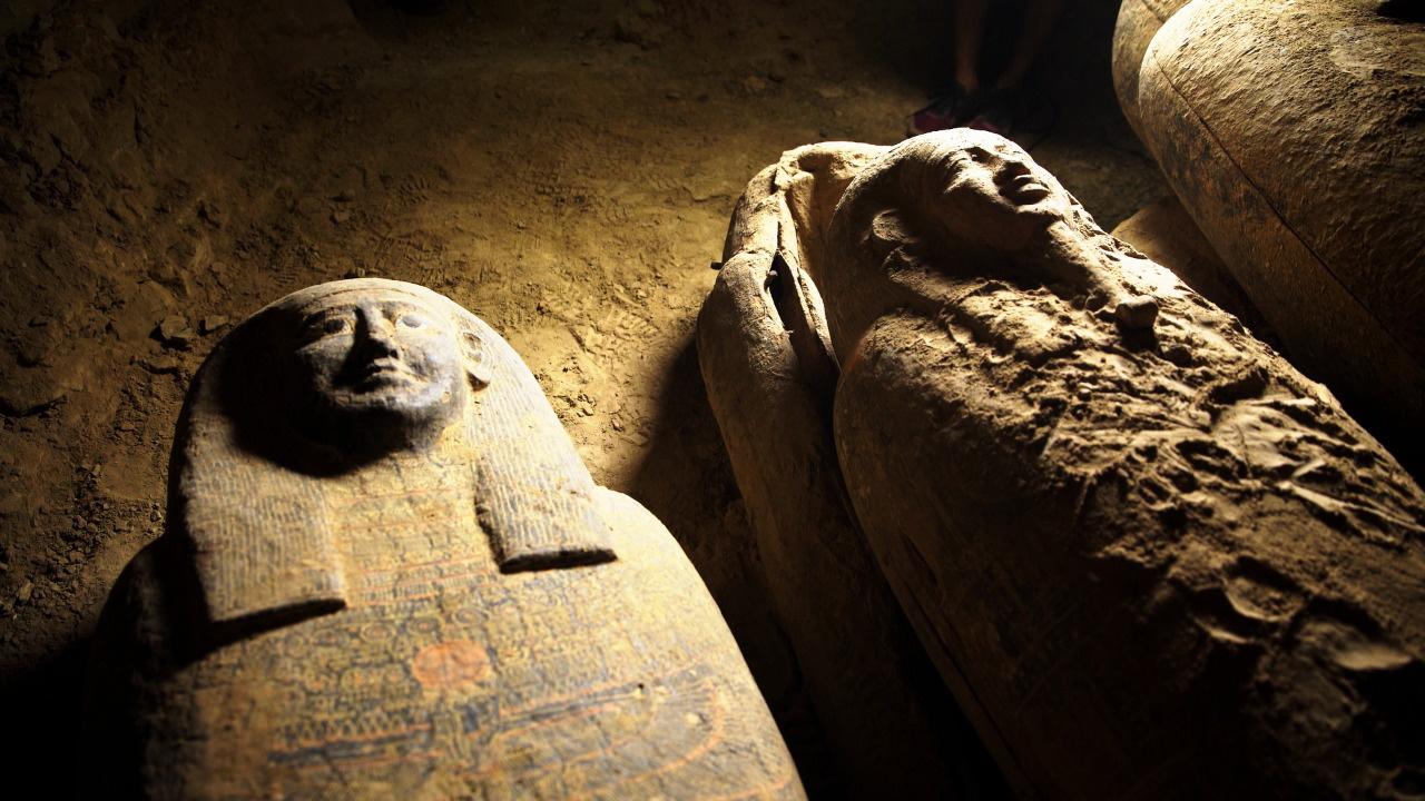 En quelques jours, l'Egypte déterre 27 nouveaux sarcophages à Saqqara [Tourism and Antiquities Ministry - Keystone]