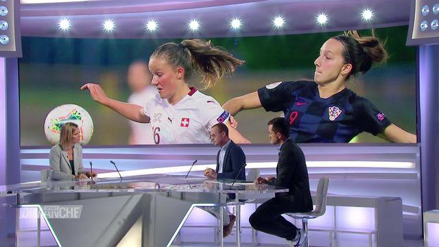 Football: féminin, la suisse accueil la Belgique [RTS]