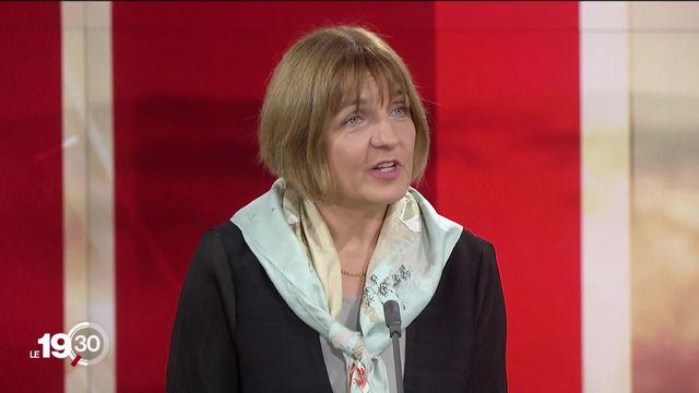 L'interview: Sylvie Briand, directrice du département pandémies et épidémies de l'Organisation mondiale de la santé. [RTS]