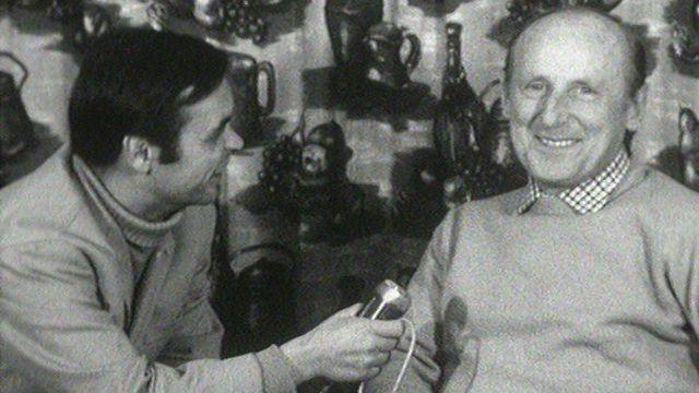 Le comédien français Bourvil en 1968. [RTS]