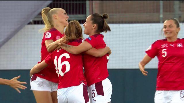 Suisse - Belgique (2-1): les Suissesses s'imposent et reprennent les commandes du groupe [RTS]