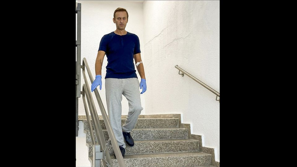 L'opposant russe Alexeï Navalny autorisé à sortir de l'hôpital [Instagram - Keystone]