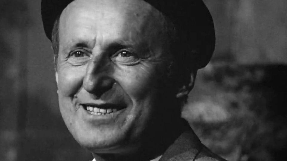 Le comédien et humoriste français Bourvil en 1962. [RTS]