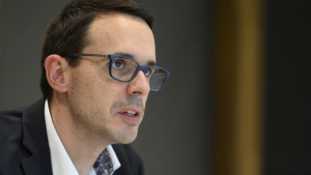 Stefan Kuster a démissionné de son poste de chef de la division Maladies transmissibles de l'Office fédéral de la santé publique (OFSP), quelques mois seulement après son entrée en fonction. [Anthony Anex - Keystone]