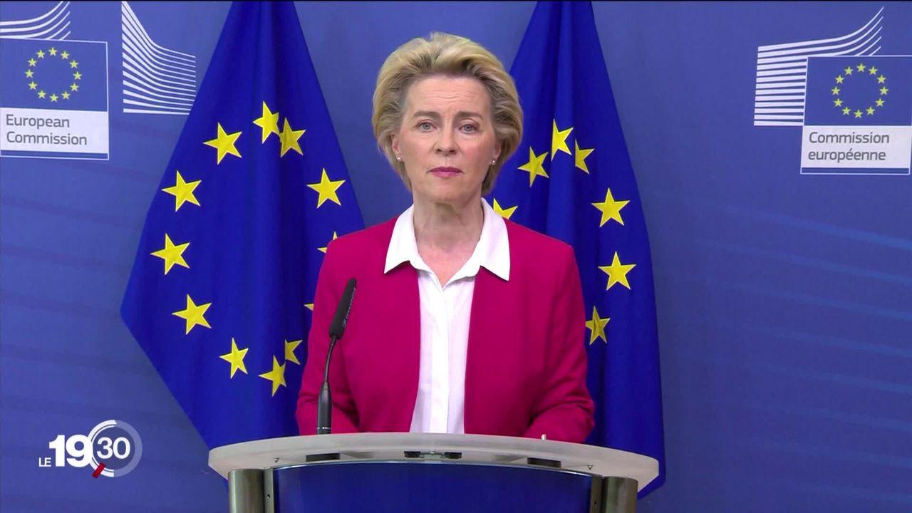La Commission européenne dévoile la réforme de sa politique migratoire [RTS]