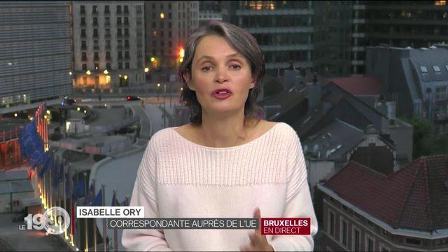 """Isabelle Ory: """"Ce pacte tient compte du rapport de forces en Europe"""" [RTS]"""