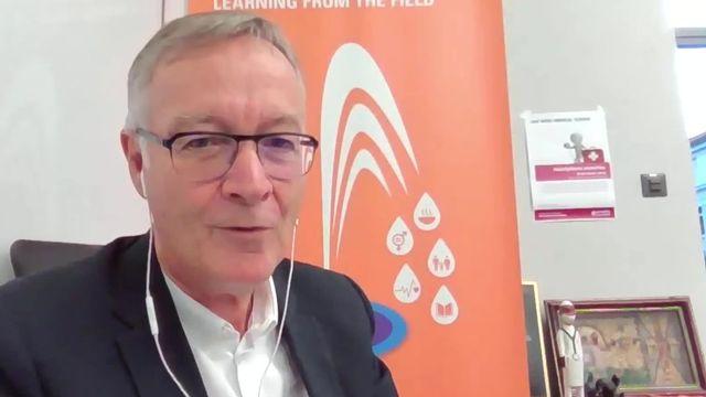 Antoine Flahault, épidémiologiste et directeur de l'Institut de santé globale à l'UNIGE. [RTS]