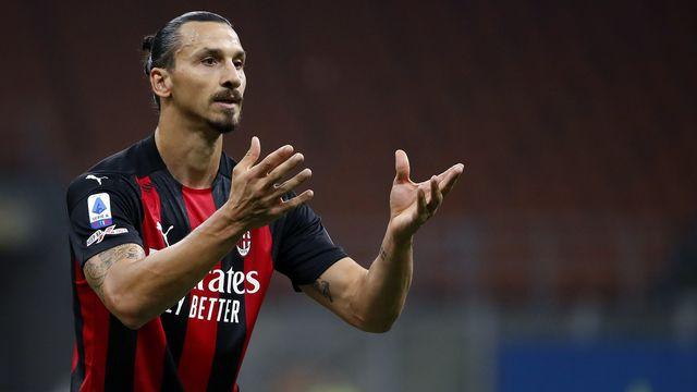 Zlatan Ibrahimovic est forfait pour le match d'Europa League. [AP Photo/Antonio Calanni - Keystone]