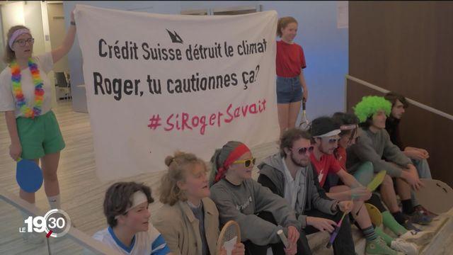 Action chez Credit Suisse en 2018: les 12 activistes du climat condamnés en appel à Renens (VD) [RTS]