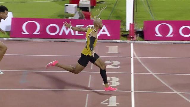 Doha (QAT), 110m haies: Jason Joseph (SUI) second derrière Mallet (USA) [RTS]