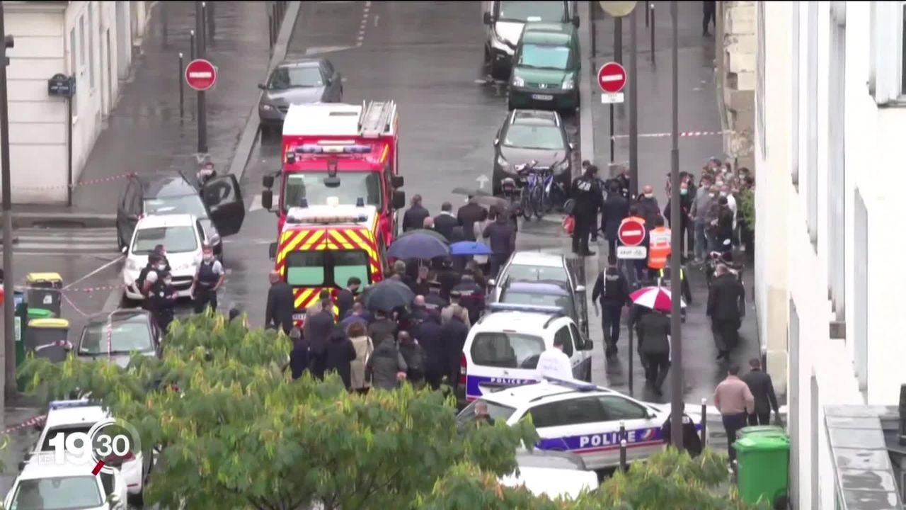 Paris à nouveau frappé par une attaque, non loin des anciens locaux de Charlie Hebdo [RTS]