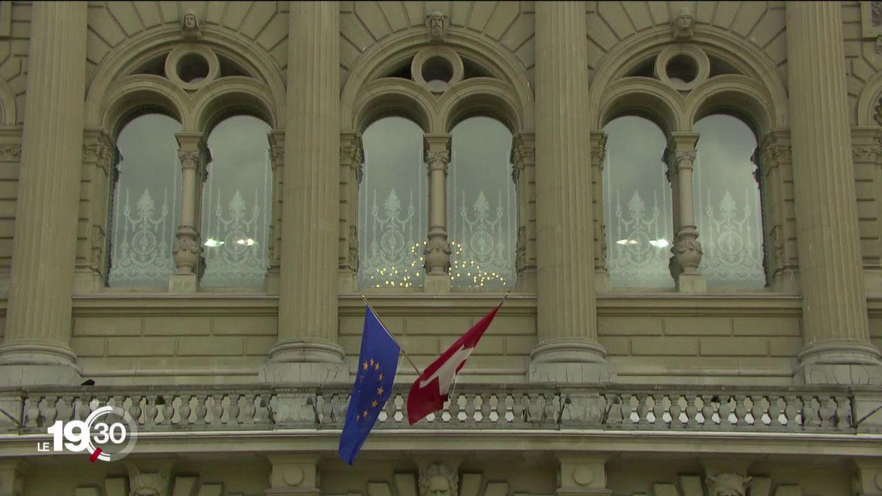 Patrons et syndicats expriment des doutes très sérieux sur le projet d'accord-cadre avec l'Union européenne [RTS]