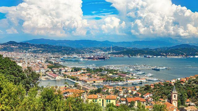 Une vue de la ville italienne de La Spezia, en Ligurie. [Benoit Bacou - AFP]
