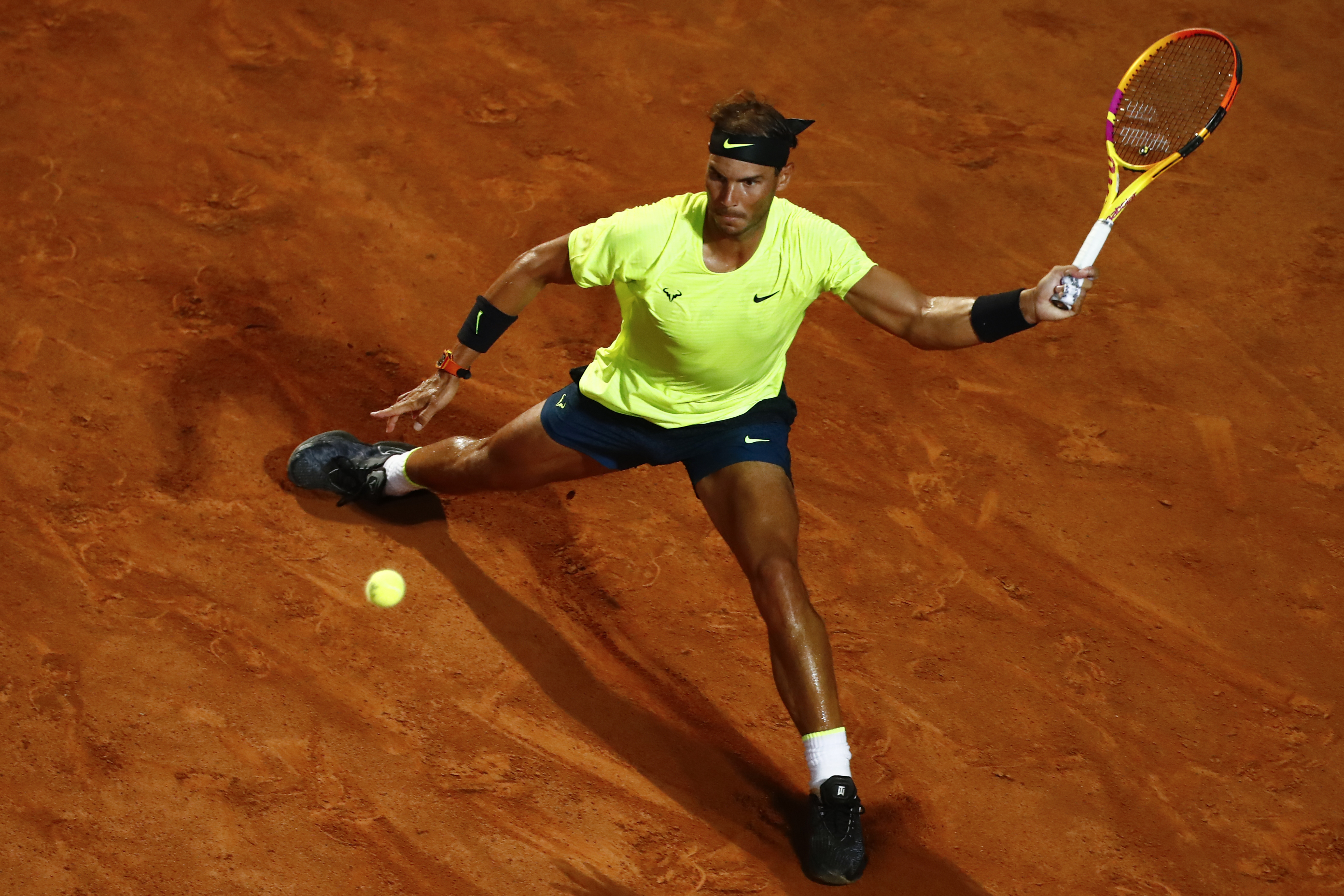 Roland-Garros: Rafael Nadal, un homme en colère à Paris