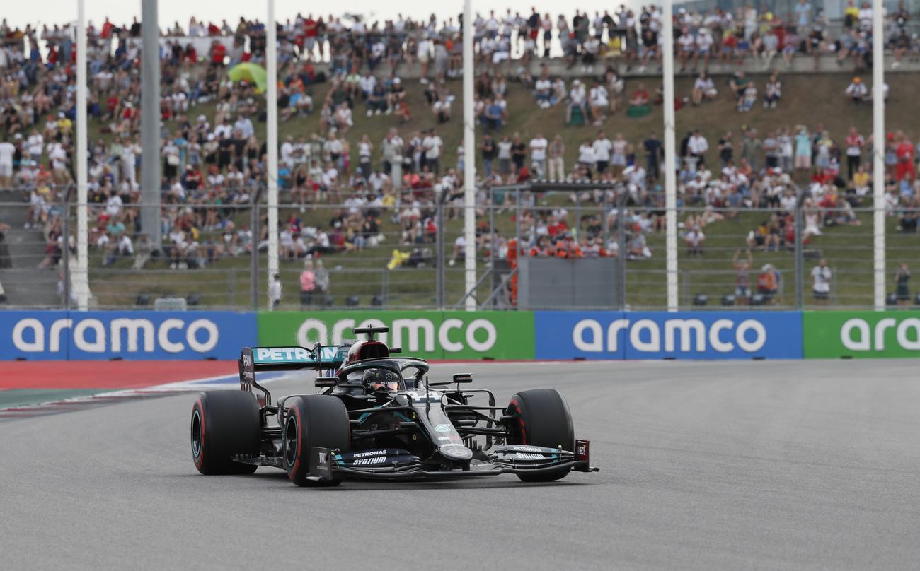 F1: Lewis Hamilton en pole à Sotchi
