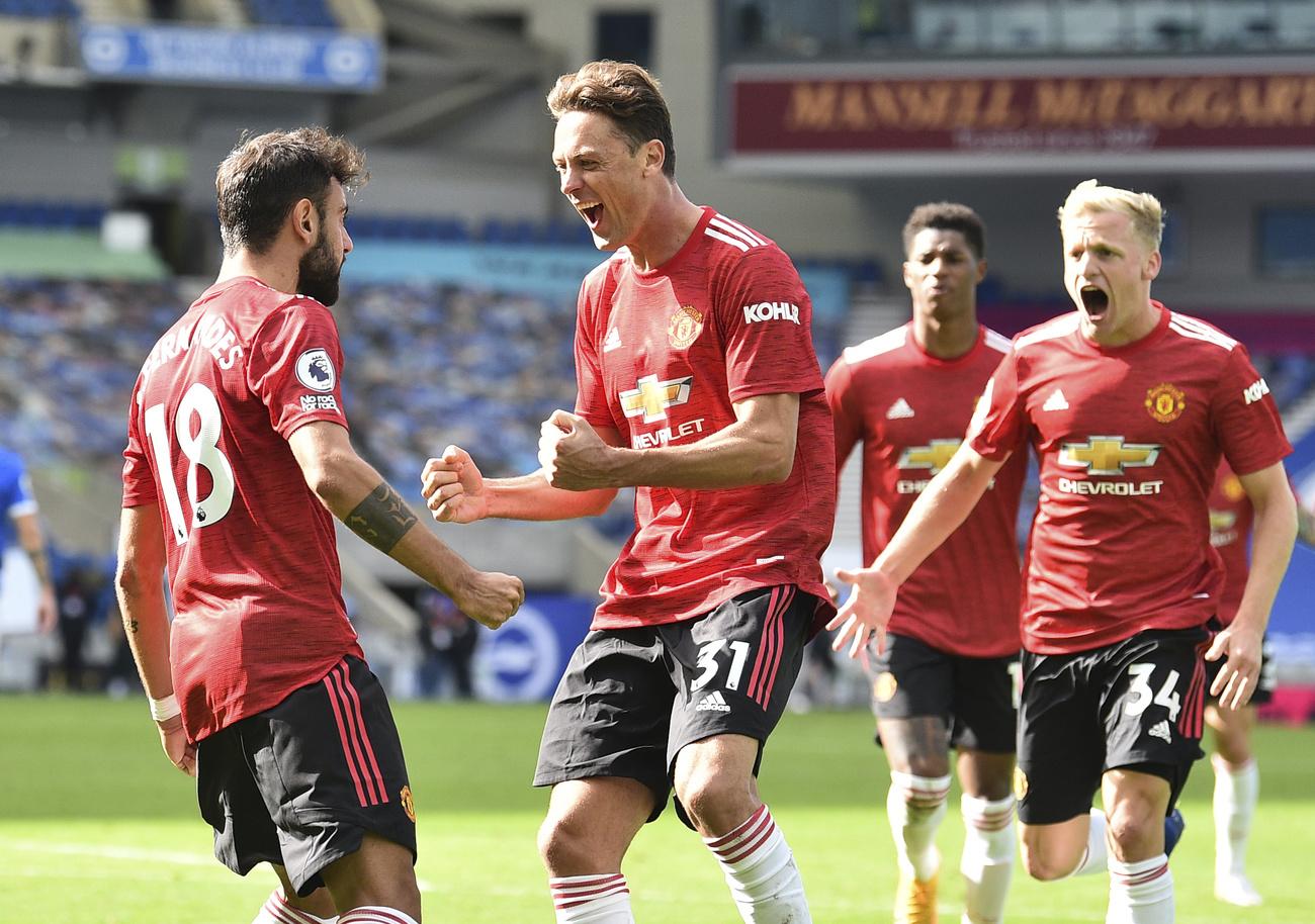 Premier League: succès fou pour Manchester United à Brighton