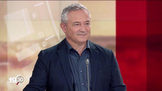 """Lionel Fontanaz: """"Avec des étés toujours plus chauds, ces refroidissements seront toujours plus spectaculaires"""". [RTS]"""