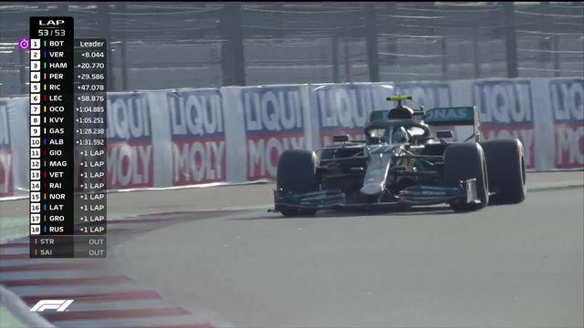 GP de Russie (#10): Bottas (FIN) s'impose devant Verstappen (NED) 2e et Hamilton (GBR) 3e [RTS]