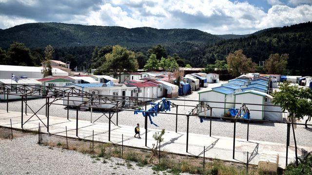 L'homme décédé était un Afghan de 61 ans qui résidait dans le camp de Malakassa près d'Athènes. [Louisa Gouliamaki - afp]