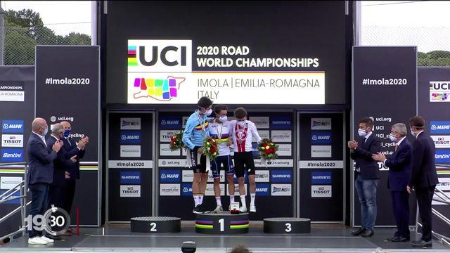Le Bernois Marc Hirschi en bronze aux Championnats du monde de cyclisme. [RTS]