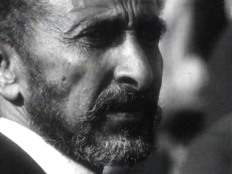 L'empereur éthiopien Hailé Sélassié 1er en 1963. [RTS]