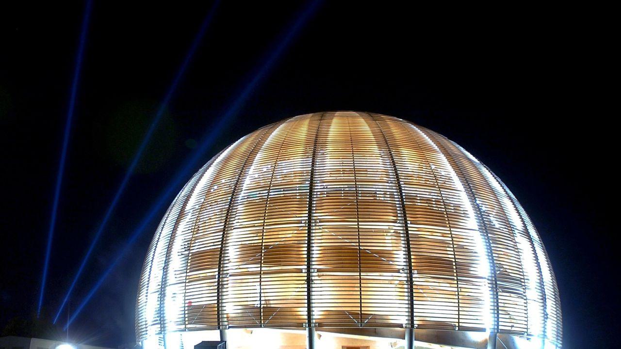 Le CERN à Genève. [Martial Trezzini - Keystone]