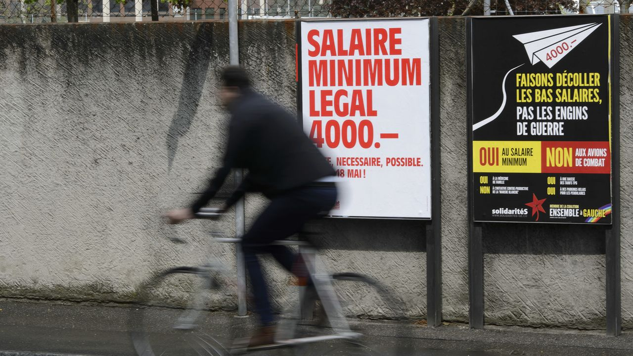 Patrons genevois inquiets face au salaire minimum. [Martial Trezzini - Keystone]