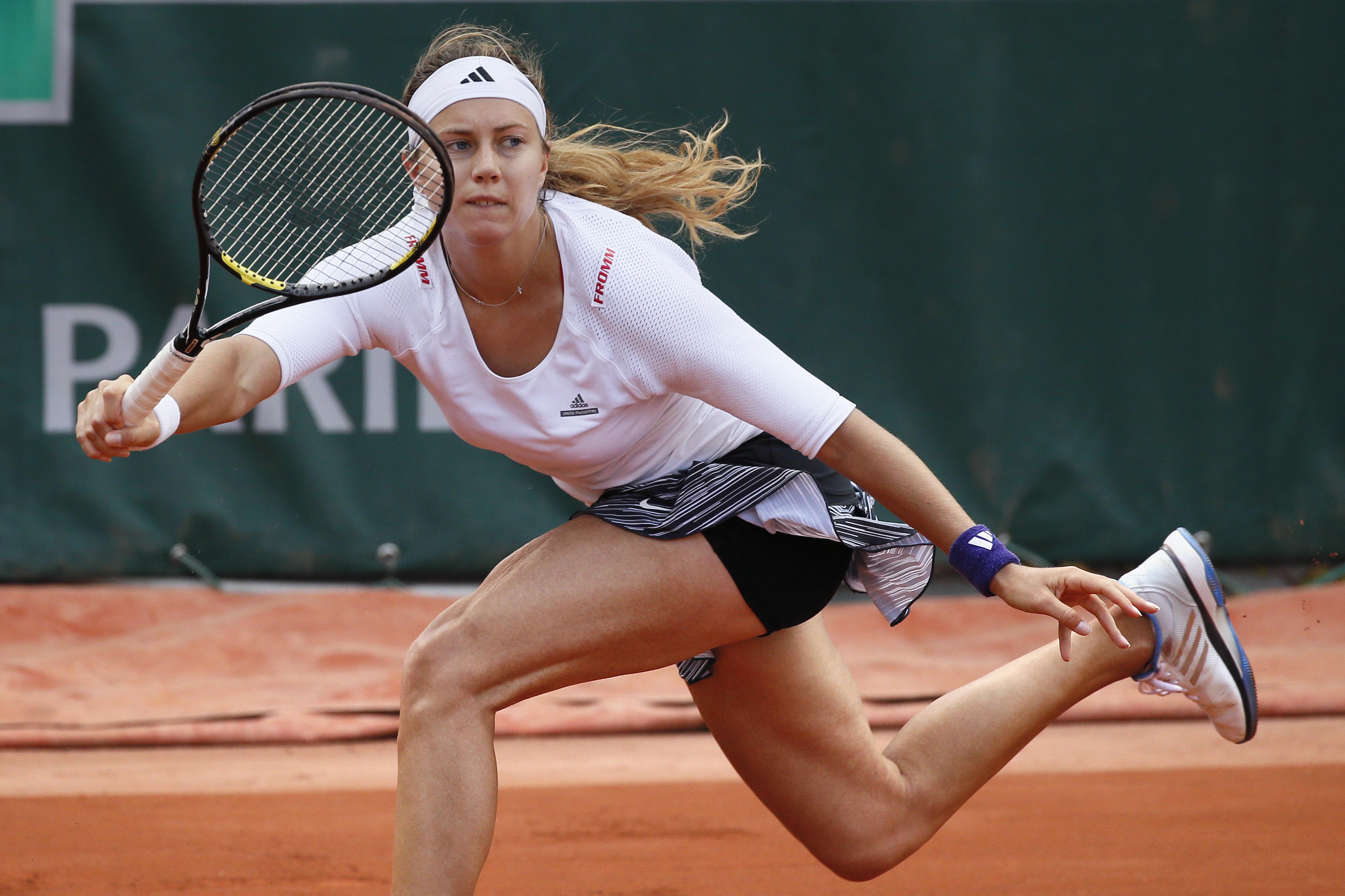 Roland-Garros: Vögele éliminée d#039;entrée