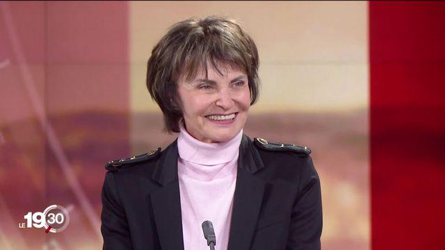 Accord-cadre: le point de vue de Micheline Calmy-Rey, ancienne présidente de la Confédération [RTS]