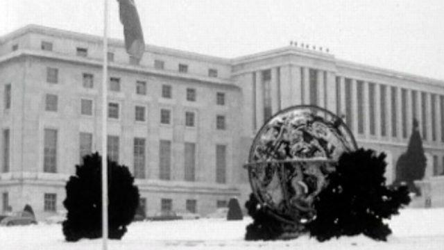 Genève modernise l'ancien Palais des Nations.