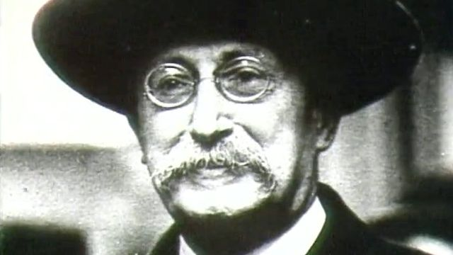 Léon Blum, homme politique français.