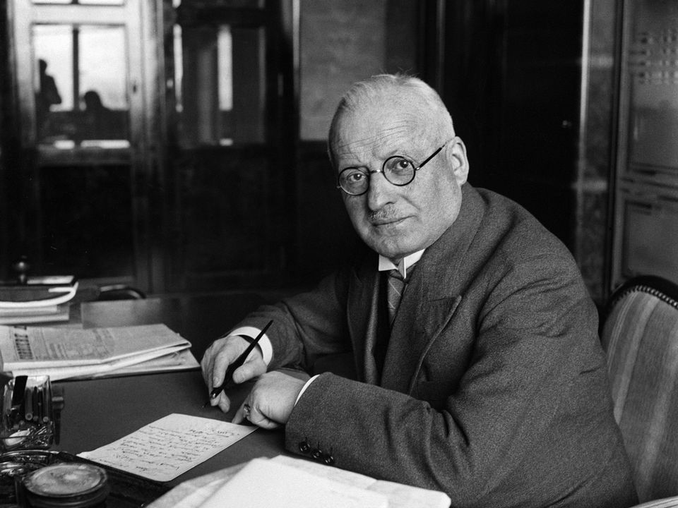 Le conseiller fédéral Giuseppe Motta en 1939. [STR - Keystone]