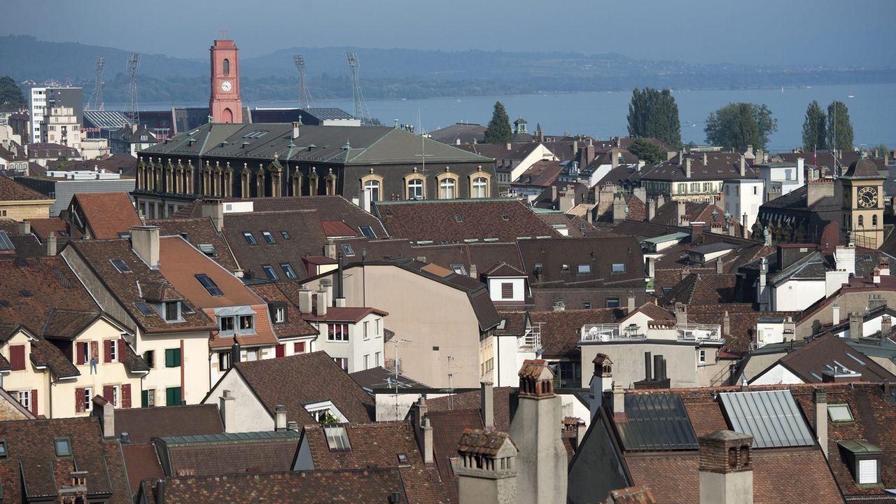 Neuchâtel veut généraliser le 30 km/h pour favoriser les vélos. [Laurent Gillieron - Keystone]