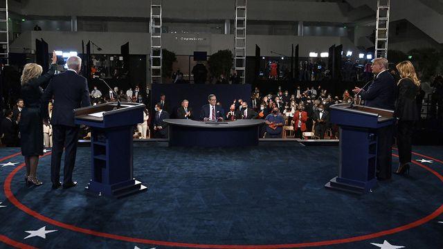 Ce débat sans précédent a laissé les analystes américains véritablement choqués par ce qu'ils venaient d'entendre. [Olivier Douliery - Pool vi AP - Keystone]