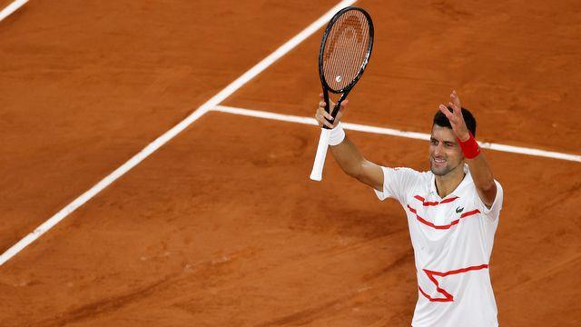 Novak Djokovic: trop facile, à Paris. [Thomas Sanson - AFP]