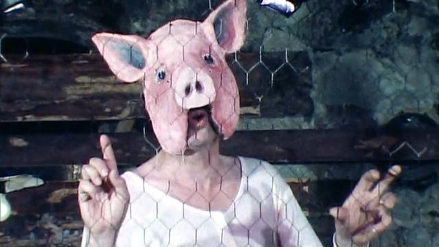 """Jean-Luc Bideau dans """"La stratégie des deux jambons"""", 1980. [RTS]"""