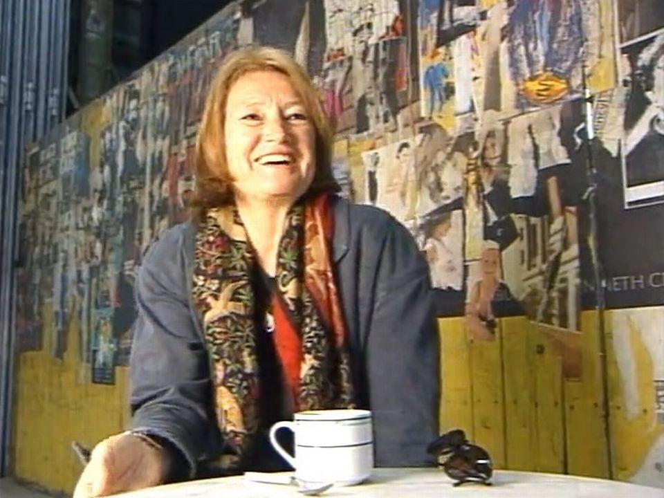 Marcela Salivarova Bideau met en scène son époux Jean-Luc, 1999. [RTS]