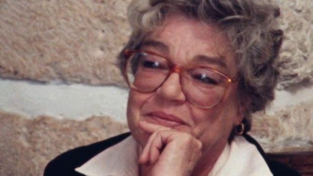 Simone Signoret en 1980 [RTS]