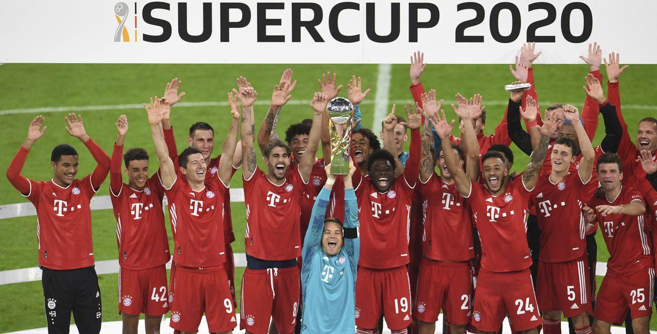 Le Bayern Munich a dominé Dortmund 3-2 en finale. [Andreas Gebert - Keystone]