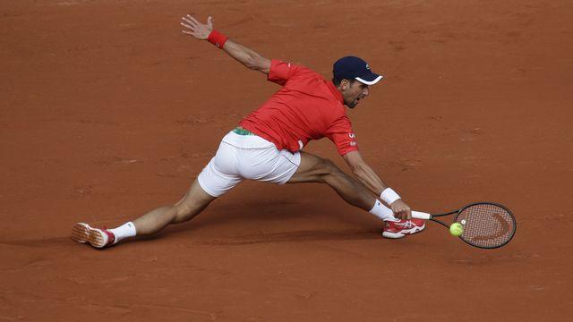 Djokovic s'est facilement qualifié pour le troisième tour. [Alessandra Tarantino - Keystone]