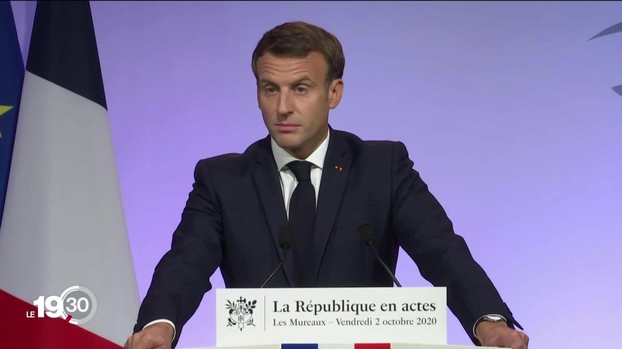 En France, Emmanuel Macron a présenté son plan contre le séparatisme islamiste [RTS]