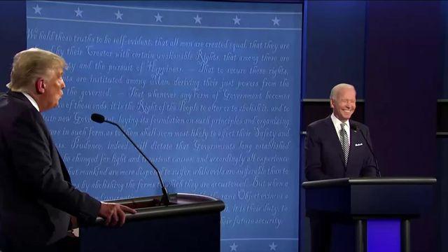 Le duel Donald Trump - Joe Biden s'est transformé en une série d'attaques personnelles [RTS]