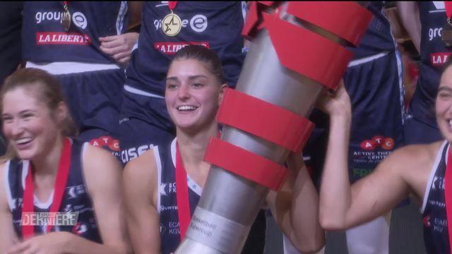 Basket féminin: Winterthour - Elfic Fribourg (63-84) [RTS]