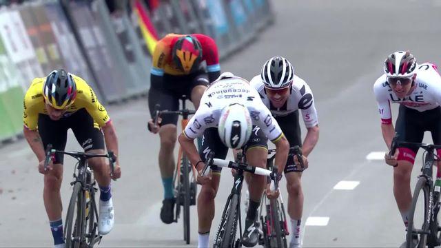Liège-Bastogne-Liège 2020: Roglic (SLO) s'impose au sprint, Hirschi (SUI) 3e [RTS]