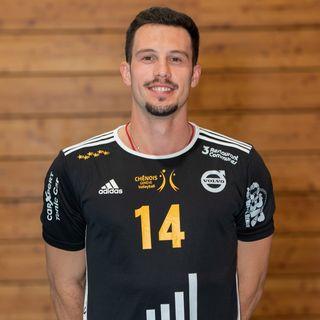 Jovan Djokic retrouve cette saison le maillot du Chênois Genève Volleyball.