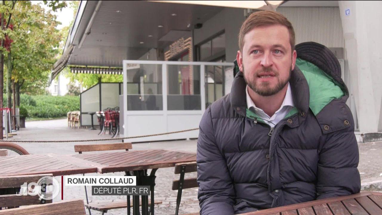 A Fribourg, pour élargir l'accueil des clients en respectant les distances, les terrasses sont à l'étude pour cet hiver. [RTS]