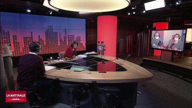 La Matinale (vidéo) - Laurence Nardon et Corentin Sellin (émission spéciale USA) [RTS]